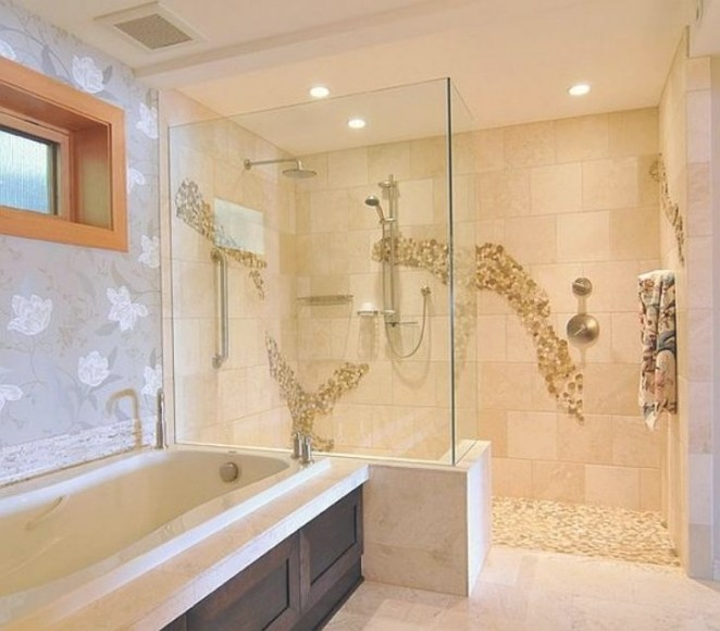 Fabulous Doorless Shower Designs For Your Bathroom - Camer for How Big Does A Walk In Shower Need To Be To Not Have A Door