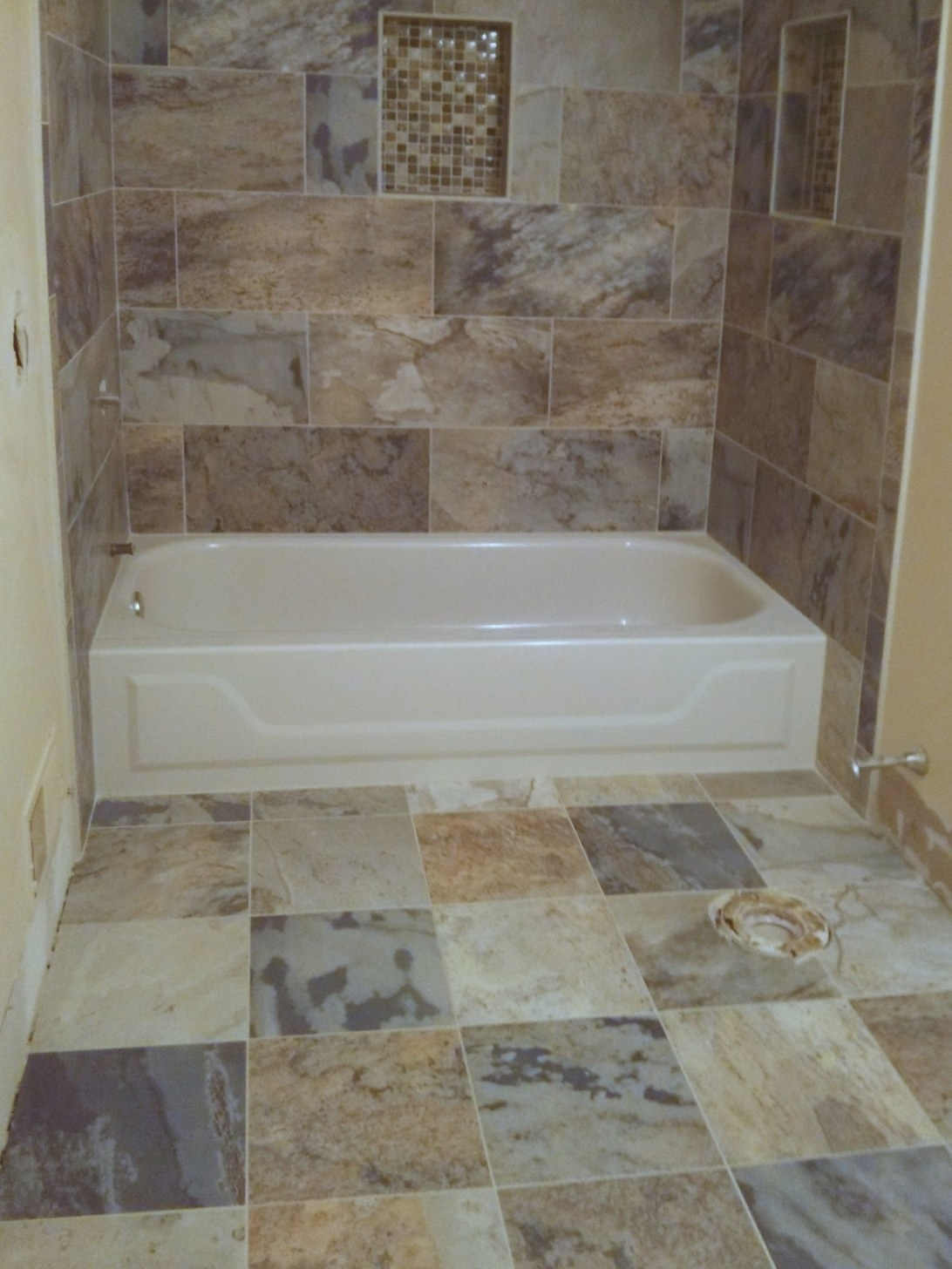 Floor Installation Photos: Newtown Pennsylvania Bathroom intended for Porcelain Tiles For Bathrooms