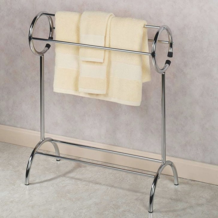Floor Standing Towel Racks | Free Standing Towel Rack With pertaining to Free Standing Towel Rack