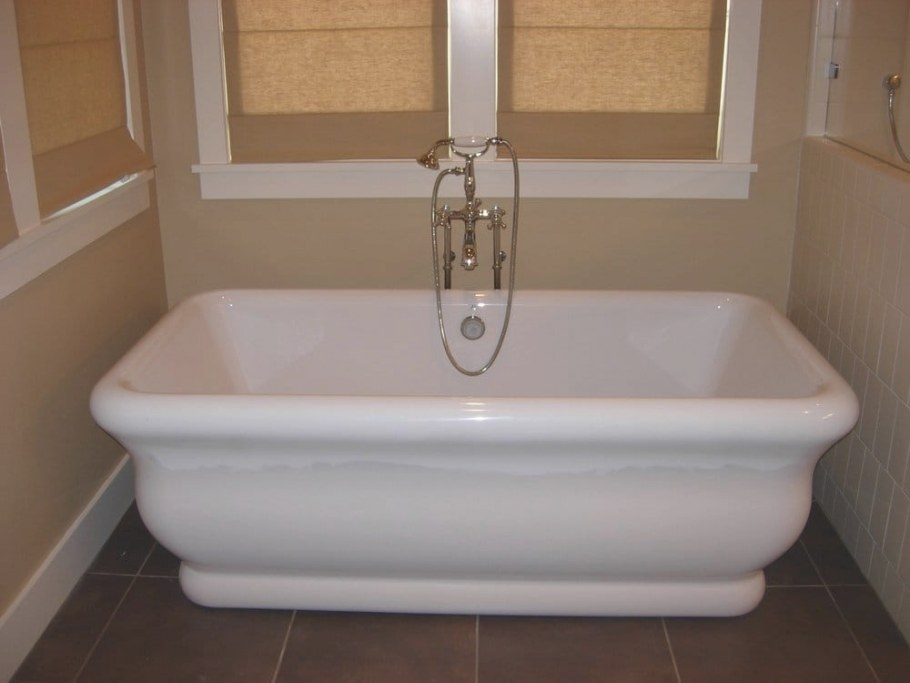 Free Standing Soaking Tub With Hand Shower | Yelp regarding Free Standing Tub Shower