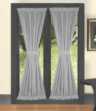 French Door Curtains - Enhancing Plain Doors in Curtains For French Doors