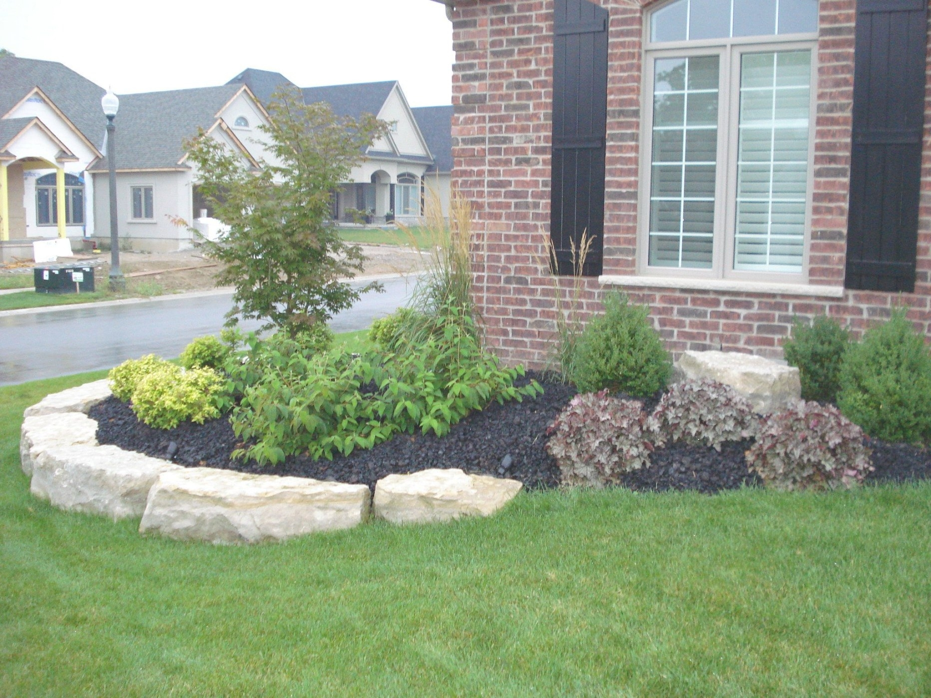 Front Flower Bed Landscaping Ideas | How Much Does pertaining to Front Yard Landscaping Ideas