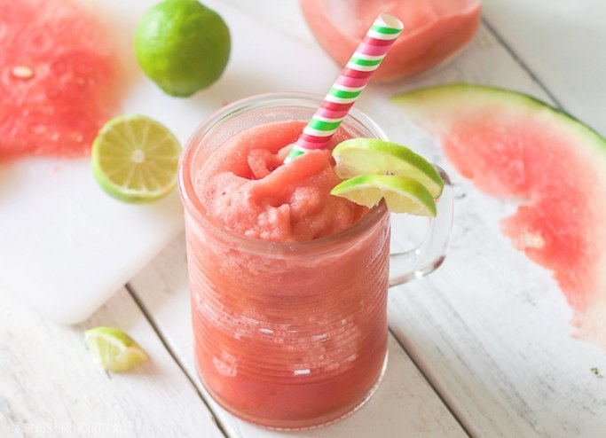 Frozen Watermelon Jalapeno Bellini - A Cool & Refreshing Buzz! with regard to Can You Freeze Watermelon