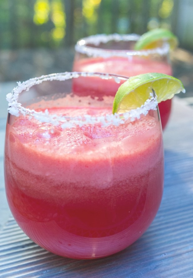 Frozen Watermelon Tequila Spritzers Are Fizzy, Fruity, And intended for Can You Freeze Watermelon