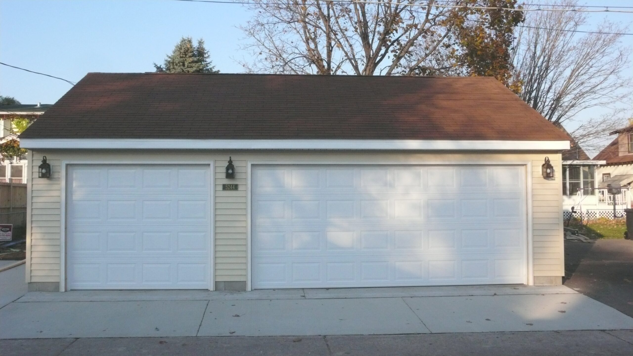 Garage Builders Mn - Garage Sizes | Garage Designs regarding Size Of 2 Car Garage