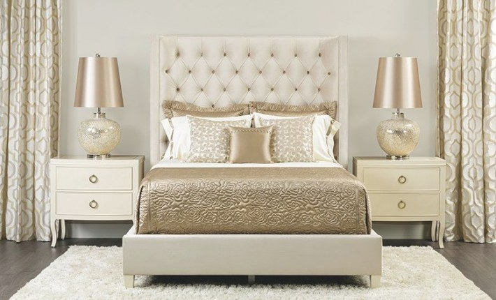 Gold And Cream Bedroom | Champagne Bedroom, Luxurious in Silver And Gold Bedroom