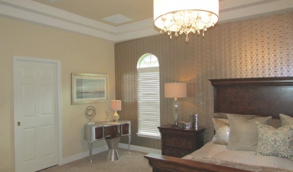 Gold And Silver Master Bedroom - Transitional - Bedroom regarding Silver And Gold Bedroom