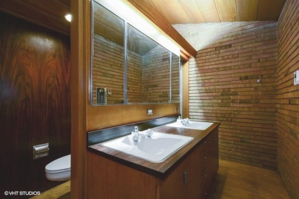 Gone! Spectacular Frank Lloyd Wright Original In for Frank Lloyd Wright Bathroom