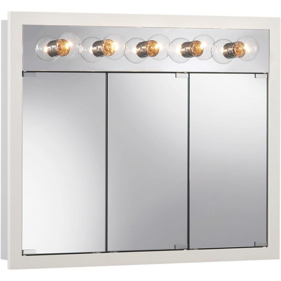 Granville 36 In. W X 30 In. H X 4.75 In. D Surface Mount in Medicine Cabinet With Lights