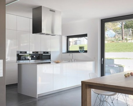 Gray And White Kitchens | Houzz in Grey And White Kitchen