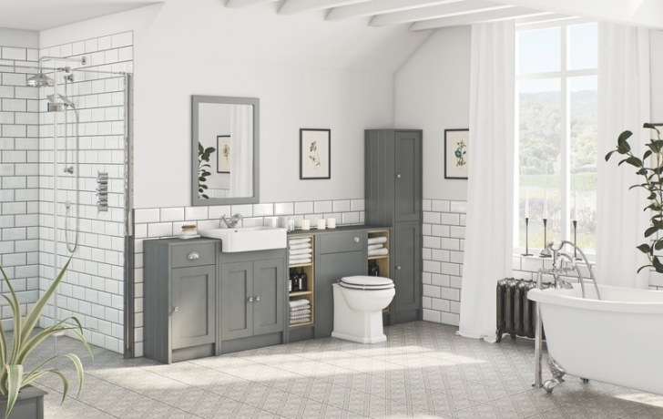Grey Bathroom Ideas | Victoriaplum pertaining to White And Grey Bathroom