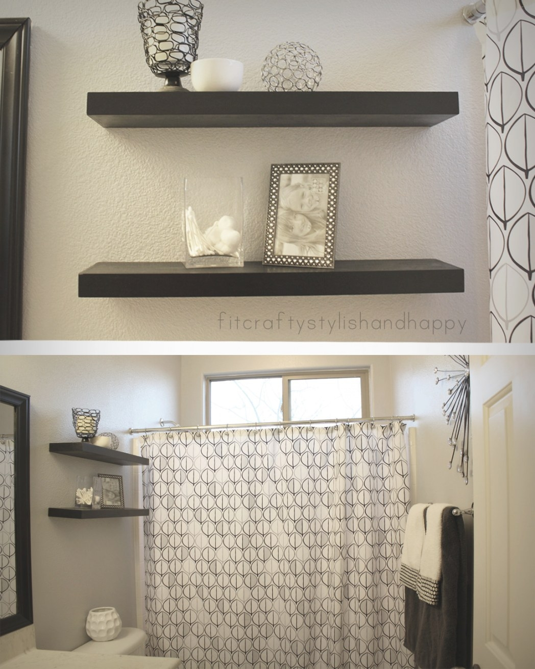Grey Black And White Bathrooms 2017 - Grasscloth Wallpaper in Black And Gray Bathroom