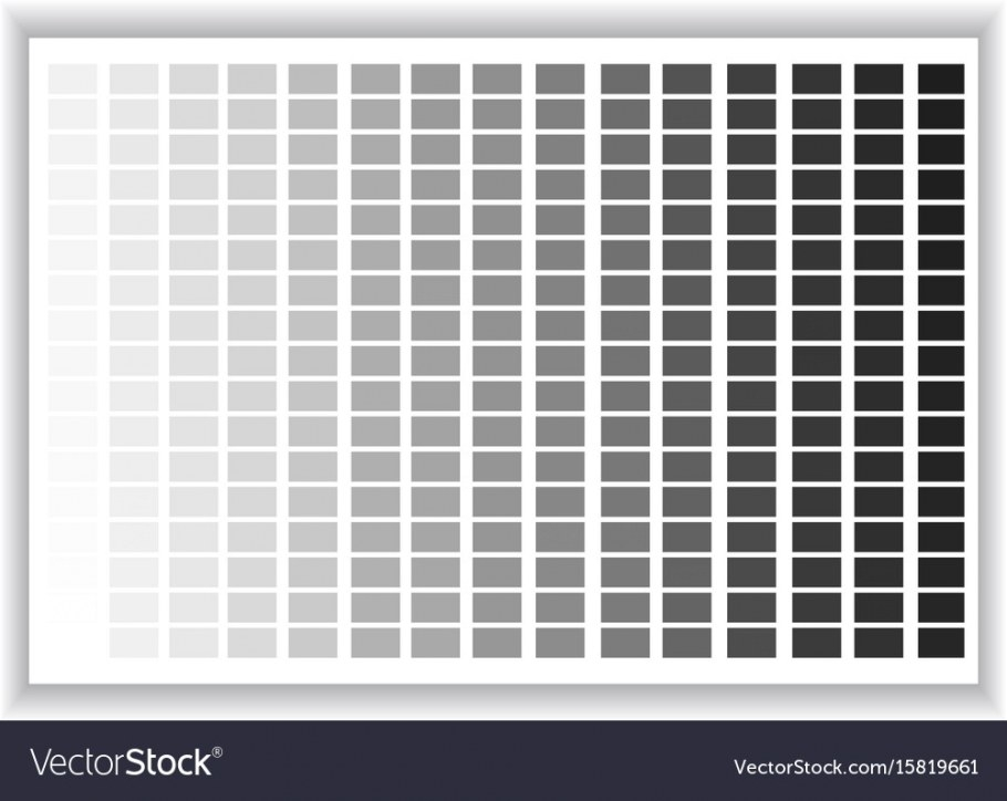 Grey Colors Palette Color Shade Chart Royalty Free Vector for Shades Of Grey Color