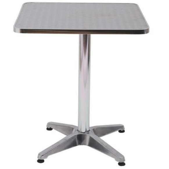 Height Adjustable Stainless Steel Top Square Bar Coffee intended for Adjustable Height Coffee Table