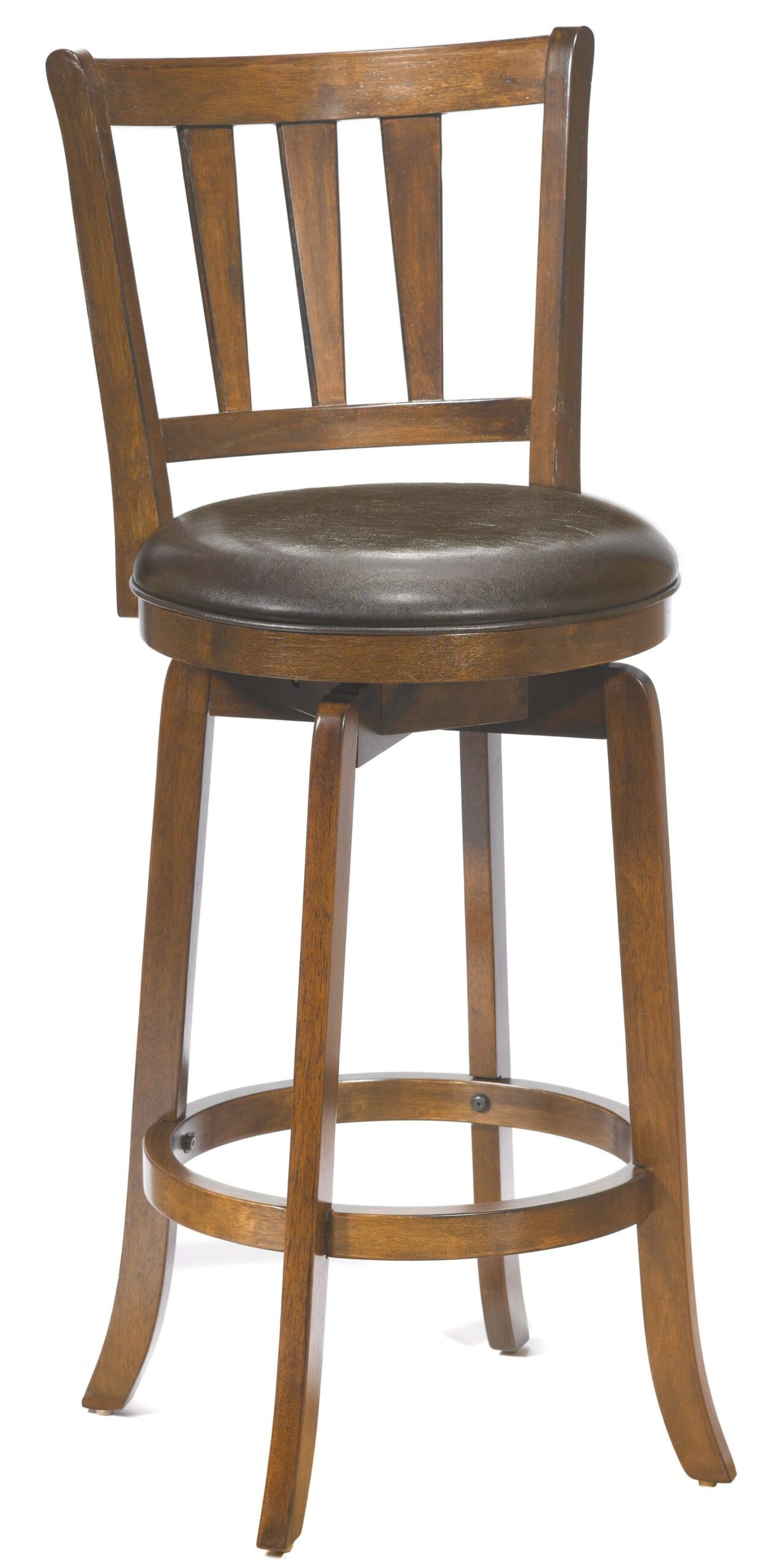 "Hillsdale Wood Stools 26"" Counter Height Presque Isle with Counter Height Bar Stools"