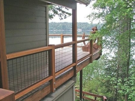 Hogwire Deck Railing Ideas in Hog Wire Deck Railing