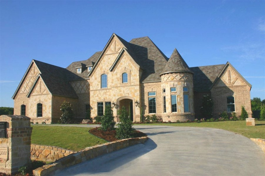 Home Elevations - Traditional - Exterior - Dallas - pertaining to Royal Crest Custom Homes