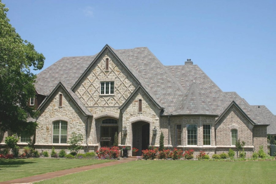 Home Elevations - Traditional - Exterior - Dallas - throughout Royal Crest Custom Homes