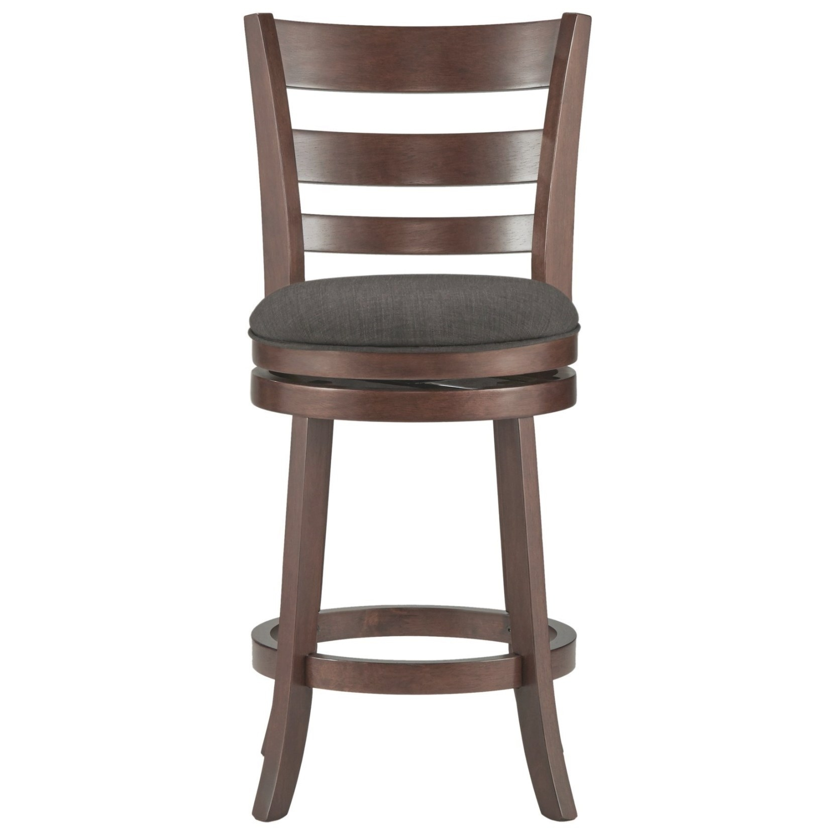 Homelegance Edmond Counter Height Swivel Stool With intended for Counter Height Bar Stools