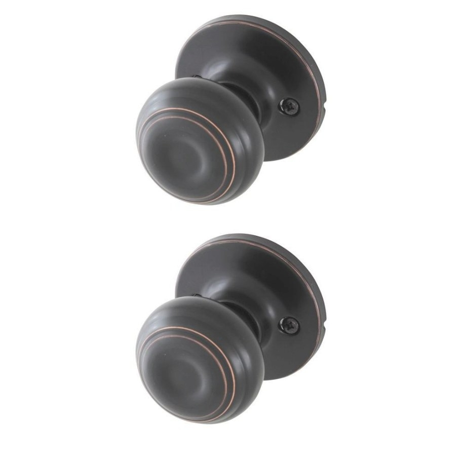 Honeywell Classic Oil Rubbed Bronze Passage Hall/Closet with regard to Oil Rubbed Bronze Door Knobs