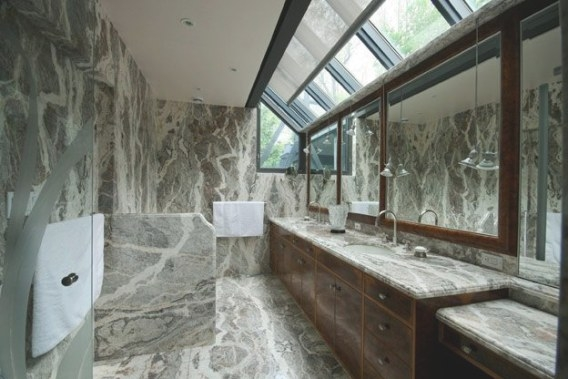 House Of The Week: $3.3 Million For An Homage To Frank throughout Frank Lloyd Wright Bathroom