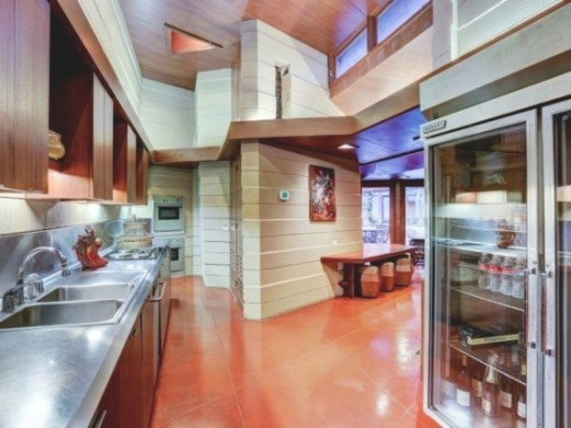House Of The Week: Frank Lloyd Wright Design Back From The with regard to Frank Lloyd Wright Kitchen