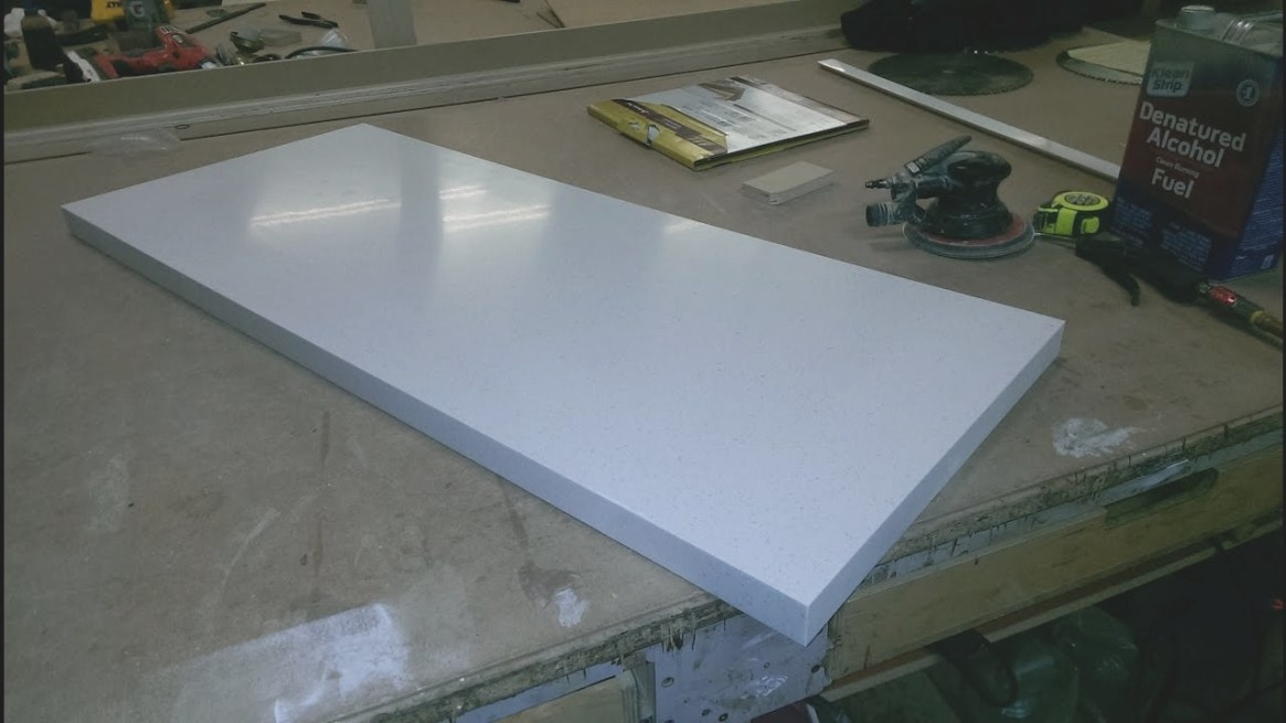 How To Cut Corian Youtube - Martinique throughout How To Cut Corian