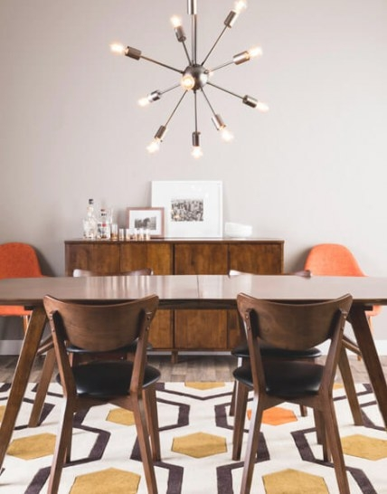 How To Get The Mid Century Modern Aesthetic In Your Dining with regard to Mid Century Modern Dining Room