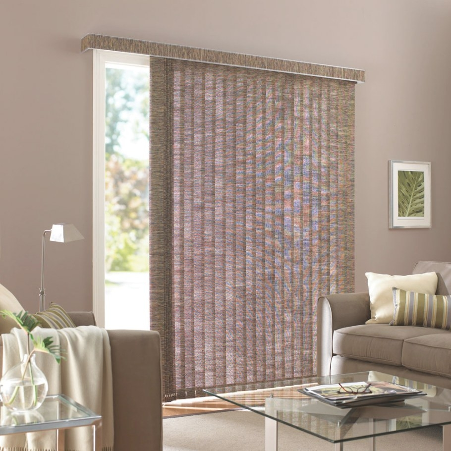 How To Hang Vertical Blinds For Sliding Glass Doors | All within Best Sliding Glass Doors