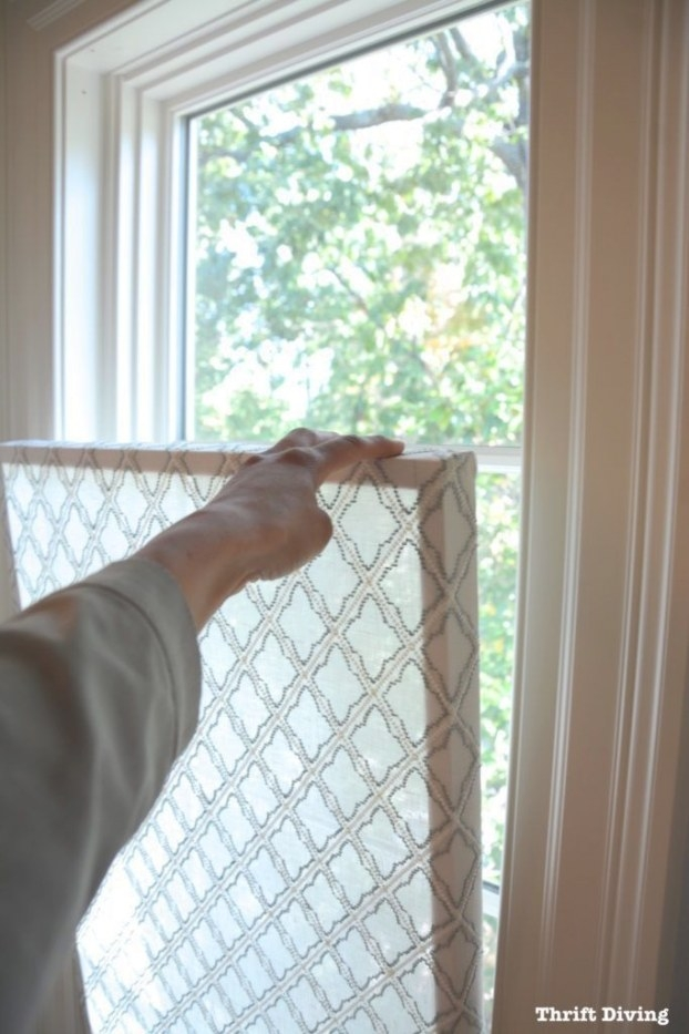 How To Make A Pretty Diy Window Privacy Screen | Bathroom regarding Small Privacy Window Bathrooms