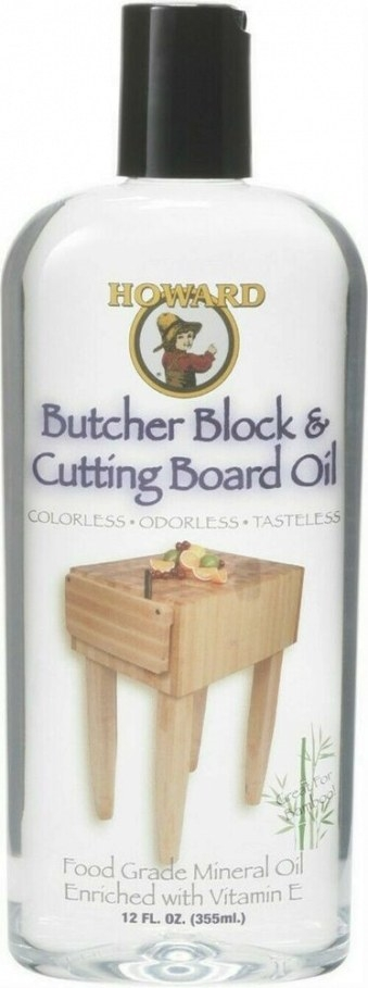 Howard Bbb012 Butcher Block And Cutting Board Food Grade regarding Where To Buy Mineral Oil