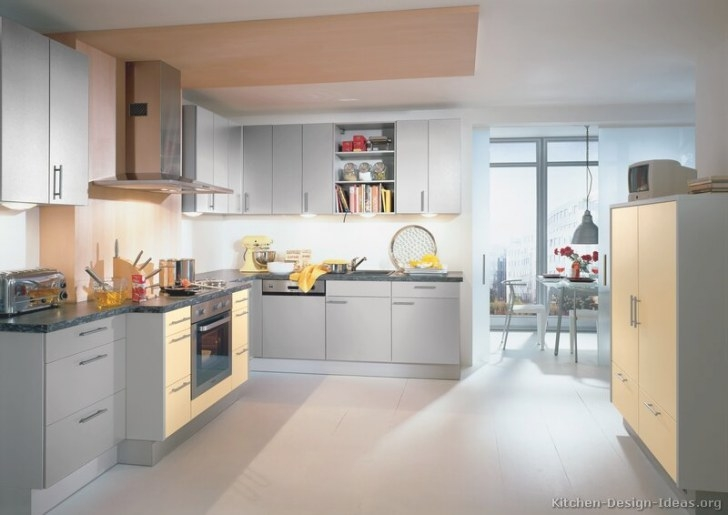 Hudson Tiles Blog: Gray Modern Kitchens in Blue And Grey Kitchen