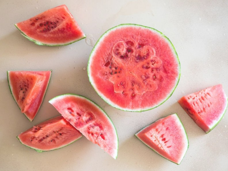 Ice That Won'T Melt In The Heat? Frozen Watermelon Ice throughout Can You Freeze Watermelon