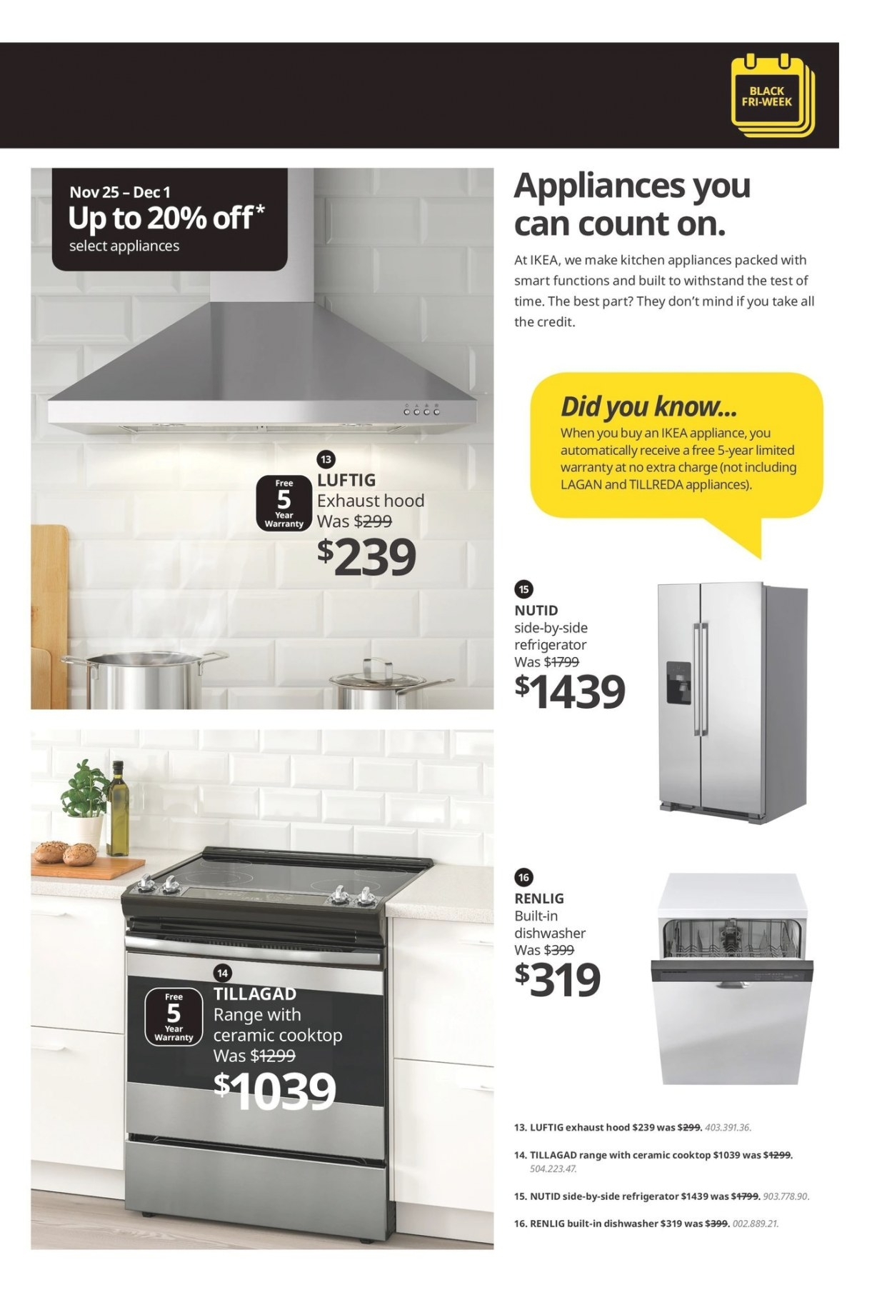 Ikea Black Friday Canada 2019 Sale Flyer intended for Ikea Kitchen Sale 2019