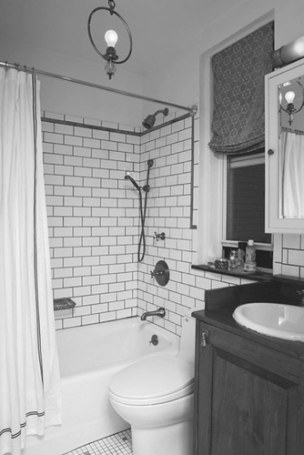 Industrial Style: Small Bathroom Designs regarding 3/4 Bathroom Layout