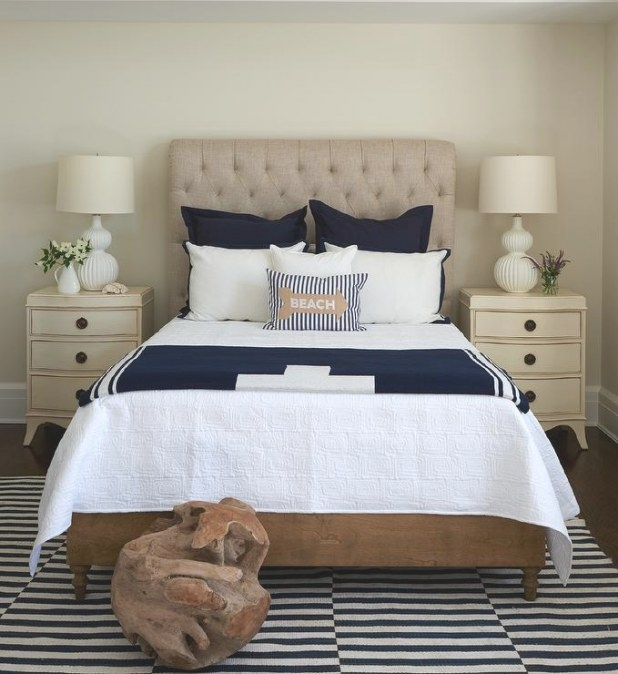 Interior Design Inspiration Photoslillian August. pertaining to Cream And Blue Bedrooms
