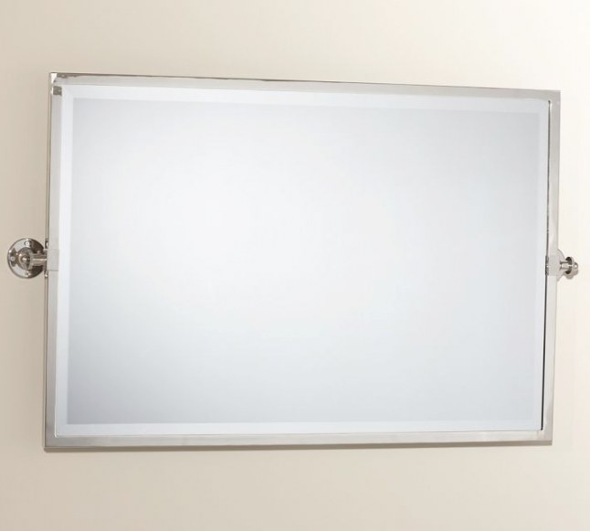 Kensington Pivot Rectangular Mirror | Bathrooms | Mirror with regard to Rectangular Mirrors For Bathroom