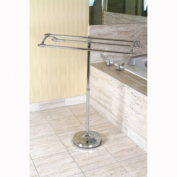 Kingston Brass Edenscape Free Standing Towel Rack intended for Free Standing Towel Rack