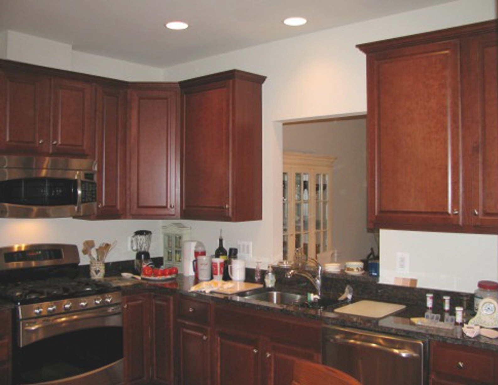 Kitchen Colors With Dark Brown Cabinets Wainscoting with regard to Dark Brown Kitchen Cabinets