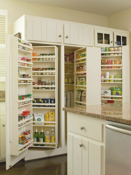 Kitchen Pantry Design Ideas | Home Styles inside Pantry Ideas For Kitchens