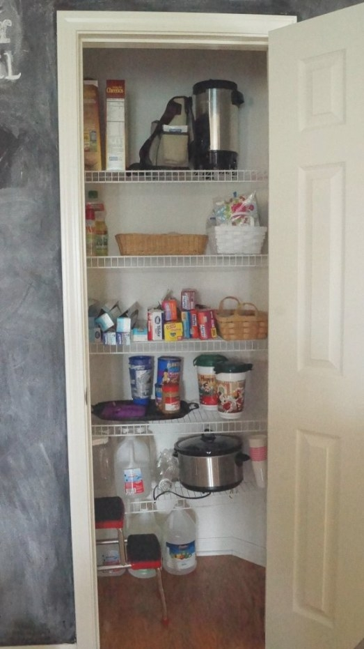 Kitchen Pantry Organizing Ideas - White Lace Cottage intended for Pantry Ideas For Kitchens