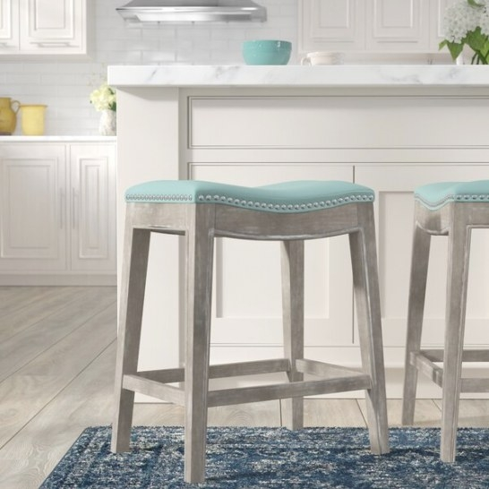 "Lark Manor Laniel 25"" Bar Stool & Reviews 