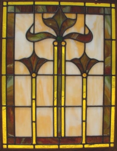 Laurelhurst Craftsman Bungalow: Playing With Stained Glass within Craftsman Stained Glass Panel Collection