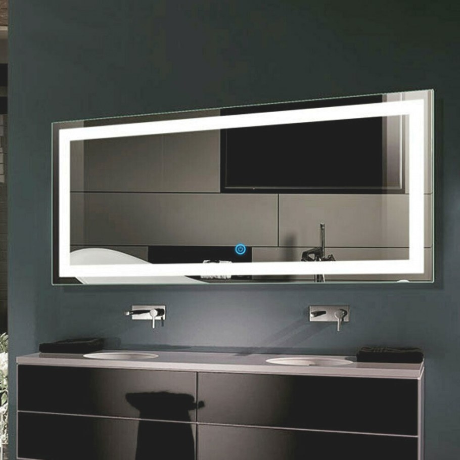 Led Bathroom Wall Mirror Illuminated Lighted Vanity Mirror with Led Lighted Mirrors Bathrooms