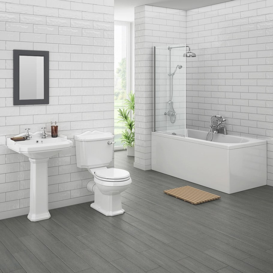 Legend Traditional Bathroom Suite At Victorian Plumbing Uk throughout Images Of Small Bathrooms