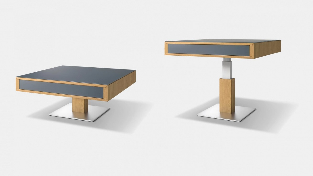Lift Coffee Table | Height-Adjustable And Flexible | Team 7 inside Adjustable Height Coffee Table