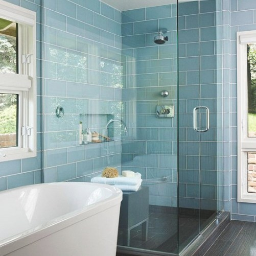Light Blue Bathroom Ideas Decor And Styling with Turquoise And Brown Bathroom
