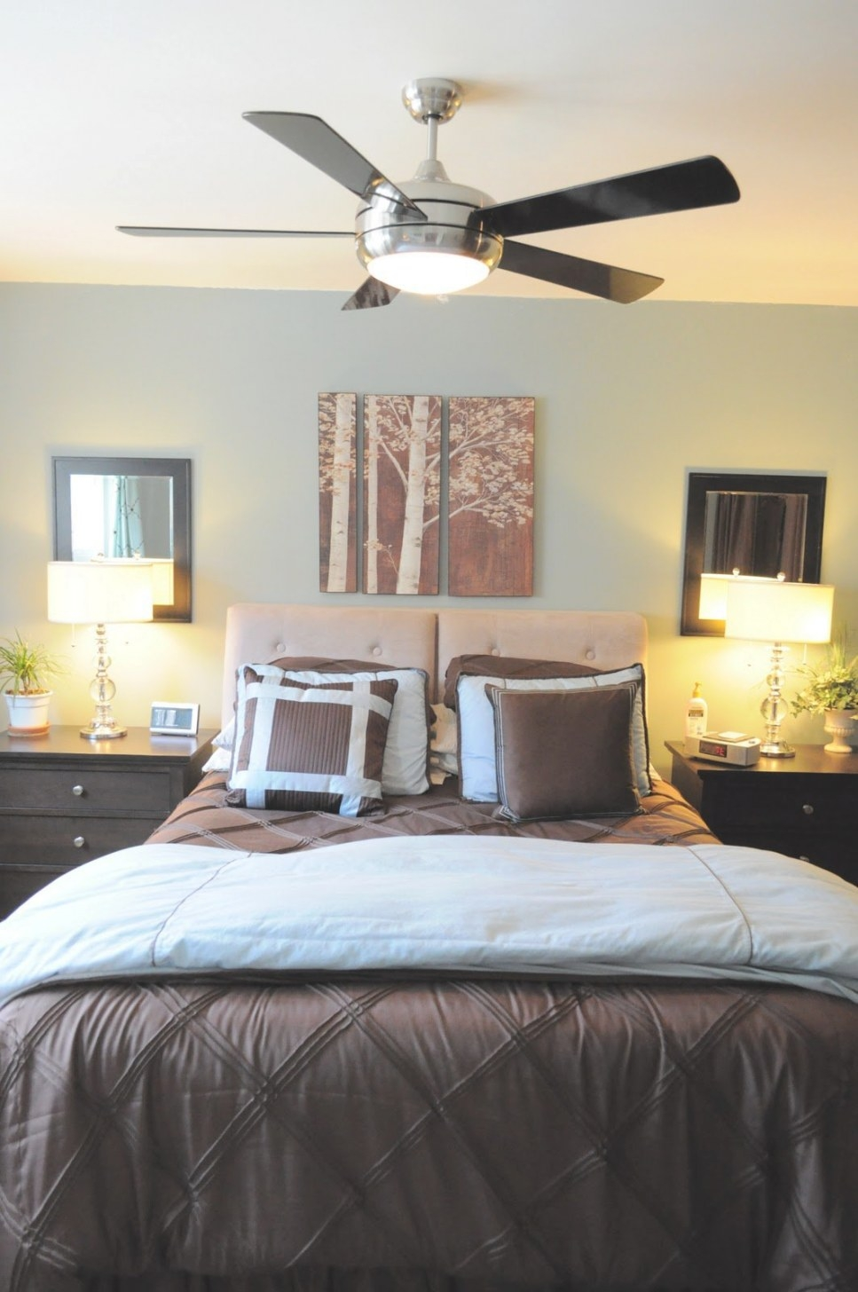 Live With What You Love: Finding Cool Ceiling Fans With pertaining to Ceiling Fan In Bedroom