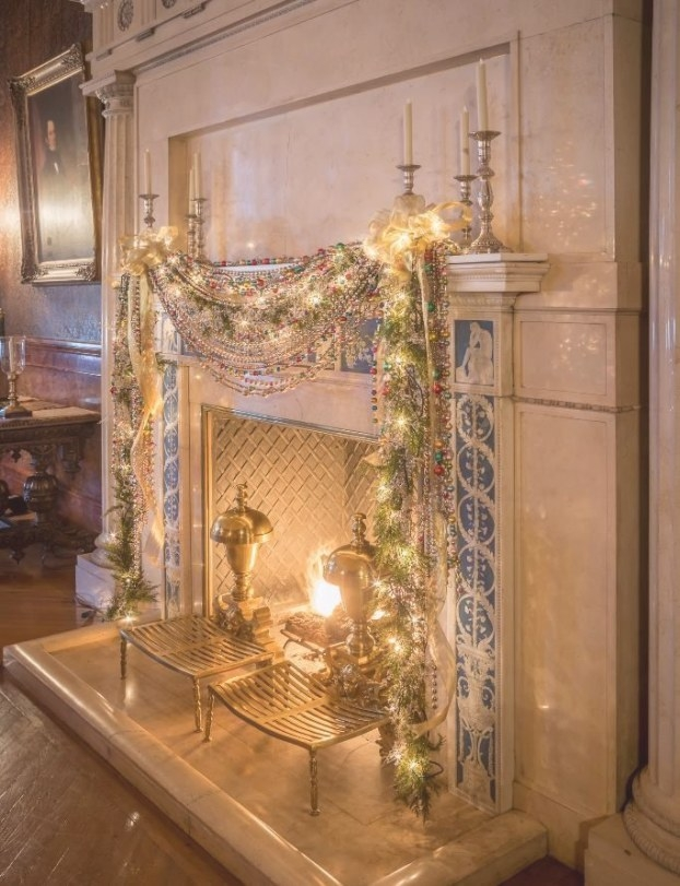 Lovely Photo Of The Holiday Fireplace Decor In Biltmore'S inside Biltmore Hearth And Home