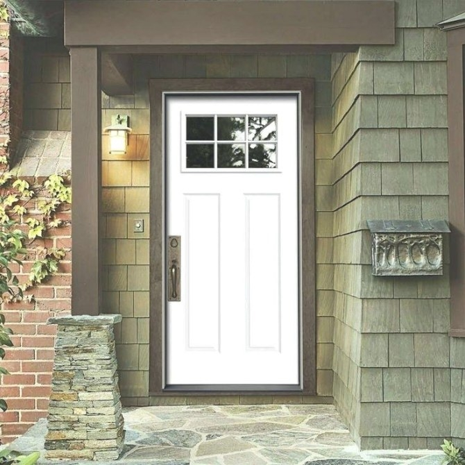Lowes Exterior Door - Peytonmeyer in Exterior Door With Built In Pet Door Lowes